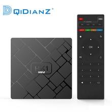 DQiDianZ أندرويد 9.0 HK1mini مربع التلفزيون الذكية RK3229 رباعية النواة 2G + 16G فك التشفير صندوق لاسلكي واي فاي 2.4G صندوق مشغل الوسائط