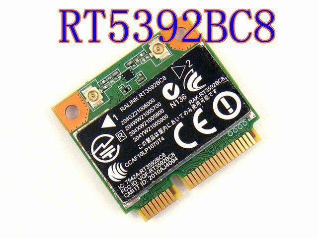 NOVA RT3592BC8 Metade Mini PCI-Express PCIe Bluetooth BT 4.0 WIF Cartão de Wlan Sem Fio para Acer Asus Toshiba Sony Dell