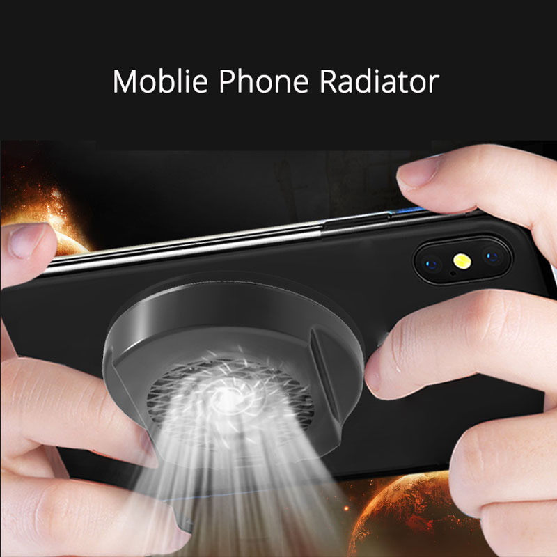2 In 1 Mobile Phone Radiator Cooling Fan Portable Phone Cooler Stand Holder For IPhone Samsung Huawei Xiaomi Smartphone Tablet