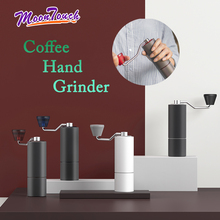 Coffee Grinder Stainless Steel Bean Mill Grinding Manual Design Hand Espresso Maker Barist