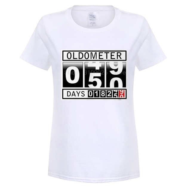 Style Mens T Shirts Hot Sale 50th Birthday Shirt Gift Present Idea 50 Years Old O Neck Streetwear Tees