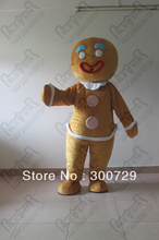 character gingerbread costumes bread man mascot costumes