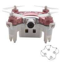 RC Helicopter Cheerson CX 10WD Wifi FPV 4CH 6 Axis LED Quadcopter Pink Without Remote Controller