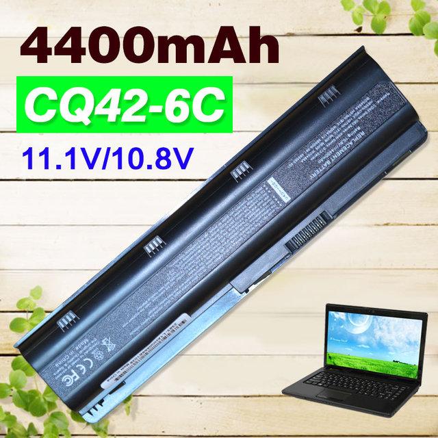 4400 mah bateria do portátil para hp pavilion g6 series 586006-321 586007-541 586028-341 588178-141 593553-001 593554-001 gstnn-q62c