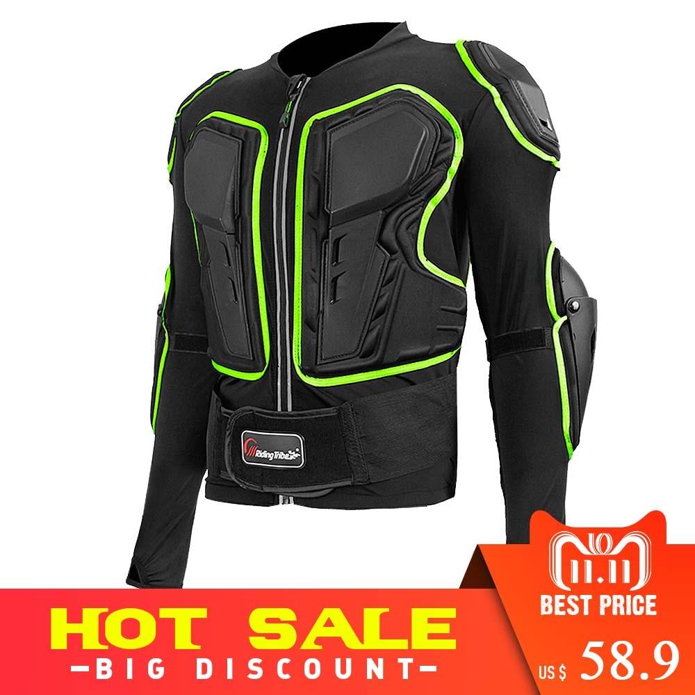 цена Riding Tribe Motorcycle Jacket Men Women Full Body Motorcycle Armor Motocross Racing Protective Gear Motorcycle Protector HX-P20 онлайн в 2017 году