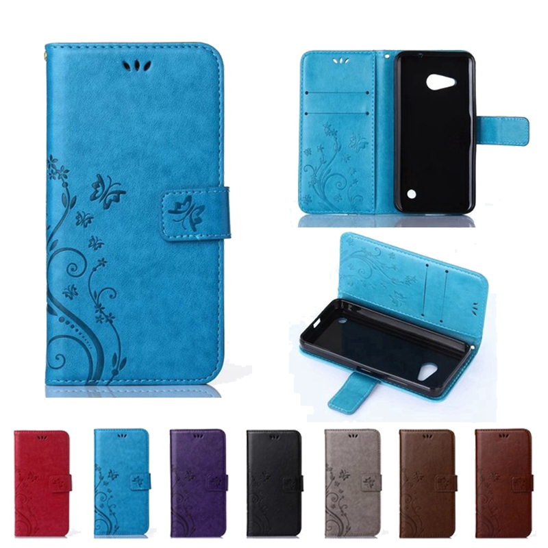 Cheap Sale Flip Wallet Leather Phone Case Cover For Microsoft Lumia 540 650 550 850 535 430 630 635 730 735 640 950 Xl 830 530 Black Cases To Suit The PeopleS Convenience Clothing, Shoes & Accessories