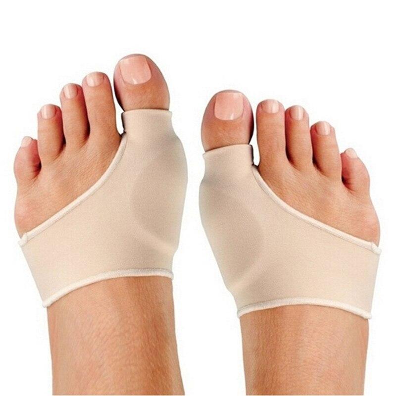 2Pcs=1Pair Big Toe Hallux Valgus Corrector Orthotics Feet Care Bone Thumb Adjuster Correction Pedicure Socks Bunion Straightener