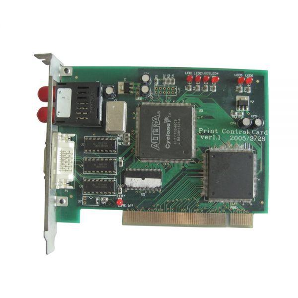 Gongzheng GZ3206/3208DS Sei-ko Head Printer PCI Card best price allwin printer 14pin pci 4meter high density cable cable signal wire for human gongzheng digital printer
