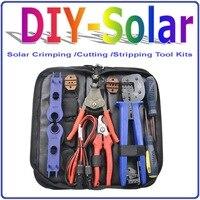 Обжимной/Резка/зачистки для солнечных Фотоэлектрические Наборы инструментов, солнечные обжимной инструмент/солнечные PV Наборы инструмент