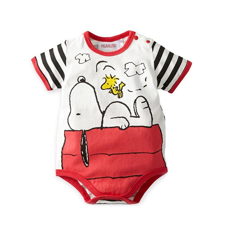 Baby Summer Romper Boy Cotton Newborn Baby Clothes Small Monster Cartoon Chip Dale Jumpsuit Comfortable Bebe Jumpsuit