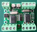 WG2RS232 prático controle de Acesso Wiegand conversor RS232, automaticamente distinguir formato wiegand, 2 entradas de WG 2 portas RS232