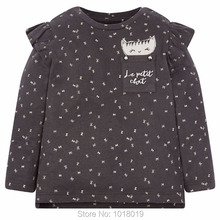 2018 nova Marca de Qualidade 100% Algodão Menina Roupa Do Bebê Crianças Roupas Crianças camisetas de Manga Longa Bebe T Meninas t camisas blusa