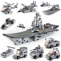 Sluban Model Toy Compatible With Lego B0537A 1001pcs 9 In 1 Ship Model Building Kits Toys