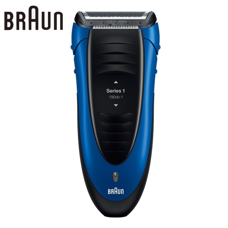 Braun Electric Shaver 190 Blue Reciprocating Blades Rechargeable High Quality Safety Razors For Men braun electric shavers 5030s rechargeable reciprocating blades high quality shaving safety razors for men