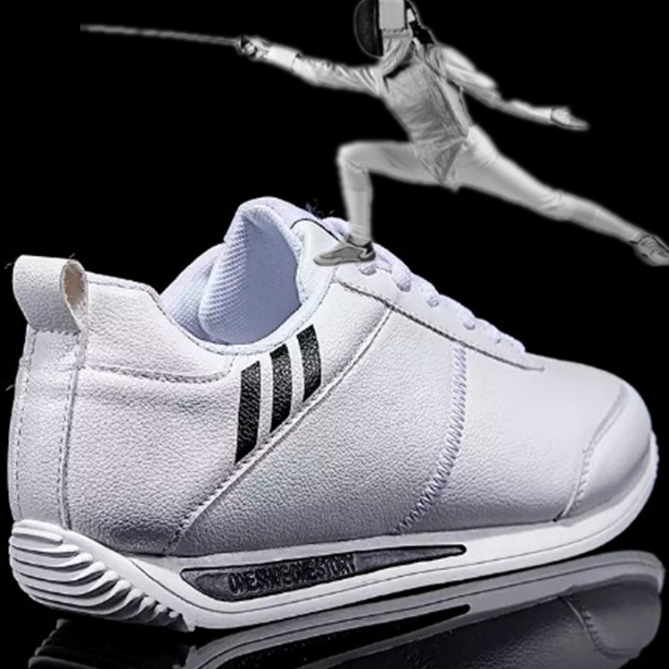 White Men's Fencing Shoes Training Fencing Sports Shoes