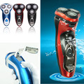 3D Electric Rechargeable Men Shaver Beard Mustache Washable 3 Head Rotary Wet Dry 3 Colors electric man shaver clipper trimmer