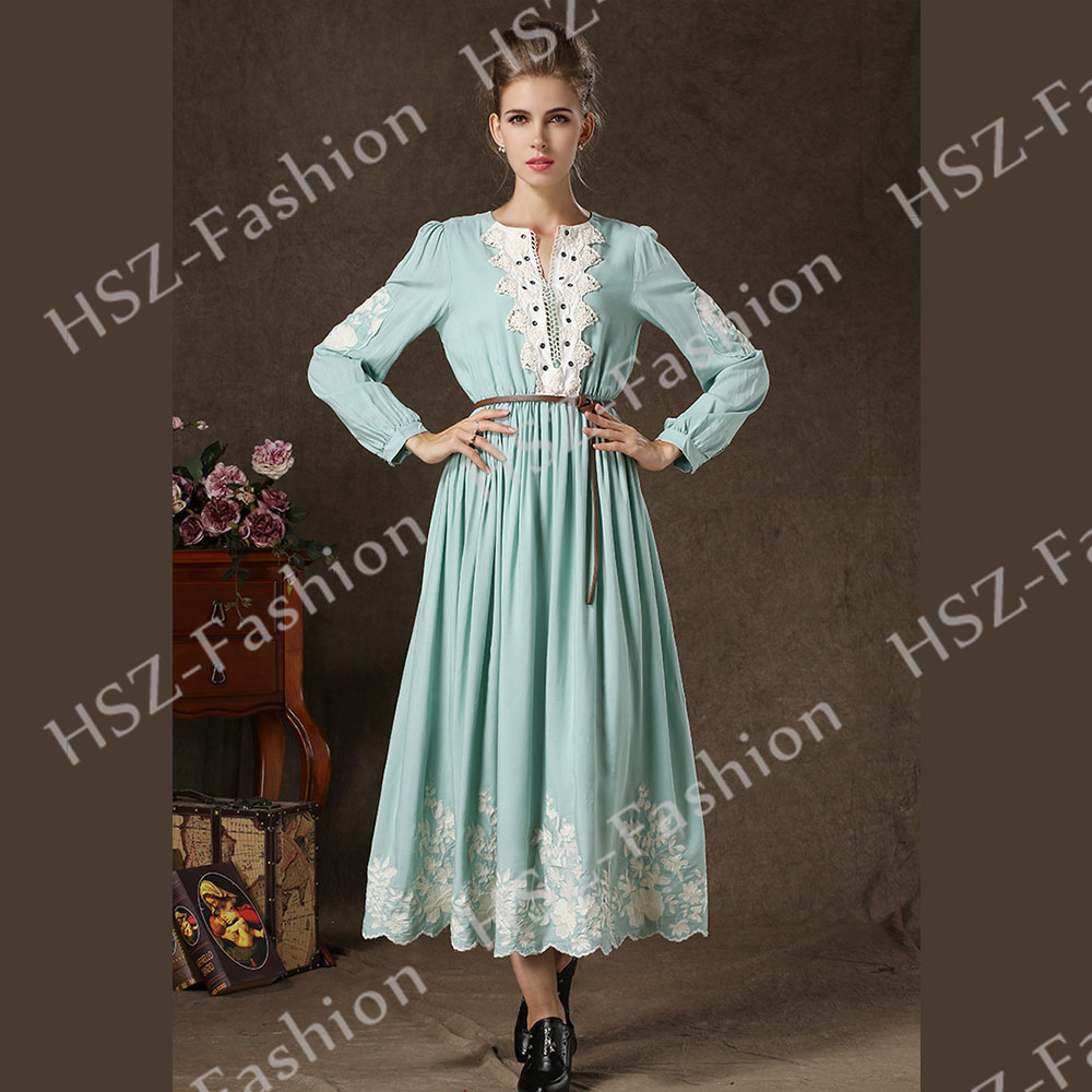 20~27Day Delivery++ 1701 muslim women style dress pictures turkish ...
