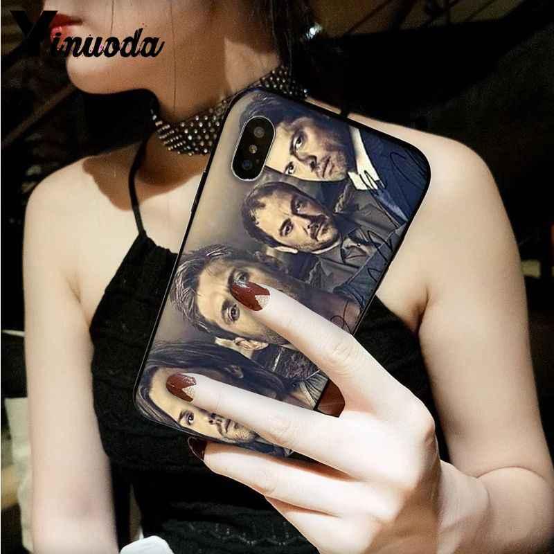 Yinuoda TIVI Siêu Nhiên DIY Cao Cấp Cao cấp Bảo Vệ Ốp Lưng dành cho iPhone 5 5Sx 6 7 7 Plus 8 8 plus X XS MAX XR