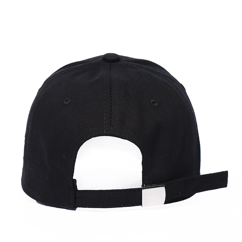 black trucker hat 6