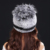 Garantia 100% Natural Genuine Rex Pele De Coelho chapéu de pele Cap Chapéus de malha Para Mulheres Moda Inverno Gorros osso Abacaxi Quente Cap
