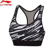 Li Ning Women S Training Bras AT DRY 80 Polyester 20 Spandex Fitness LiNing Sports Bras