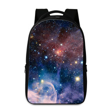 Dispalang School Bags For Teenager Galaxy Star Printing Laptop Backpack Mochila Feminina Travel Bag Mens School