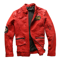 Men S Suede Leather Motorbike Jacket Mens Classic Clothing Coat Sheep Leather Rider Jacket
