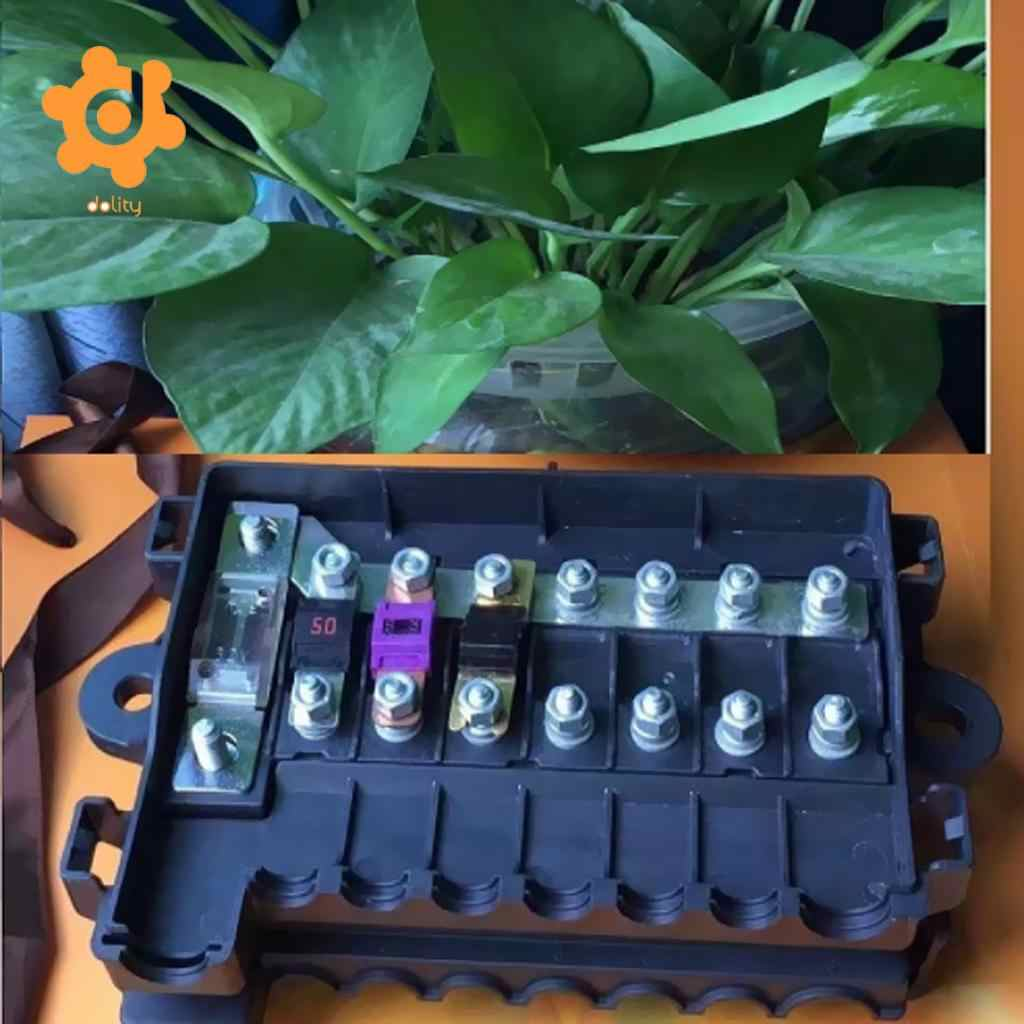 hight resolution of automotive car boat 32v 7 way midi anm ans fuse box block holder