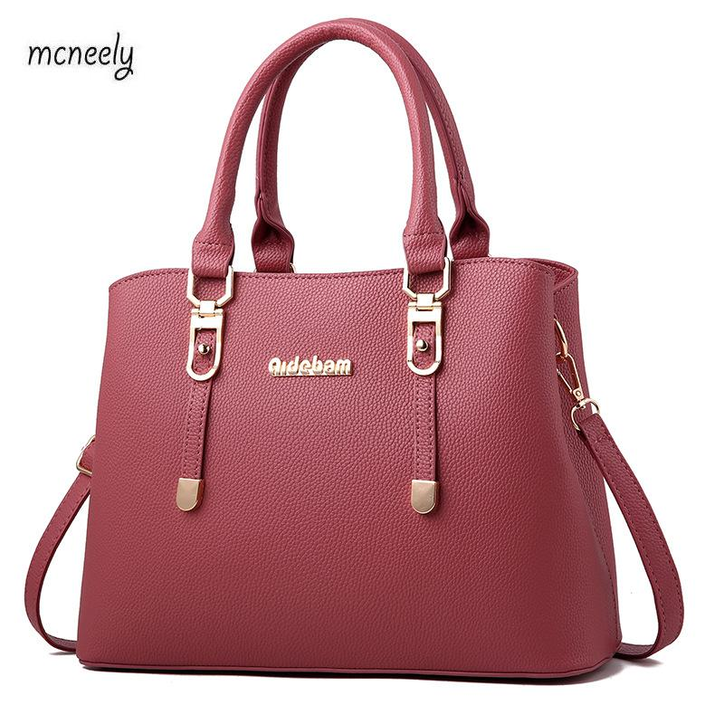 High Quality Fashion PU Leather Women Handbag Female Shoulder Bag Girls Messenger bag Casual Women Bag