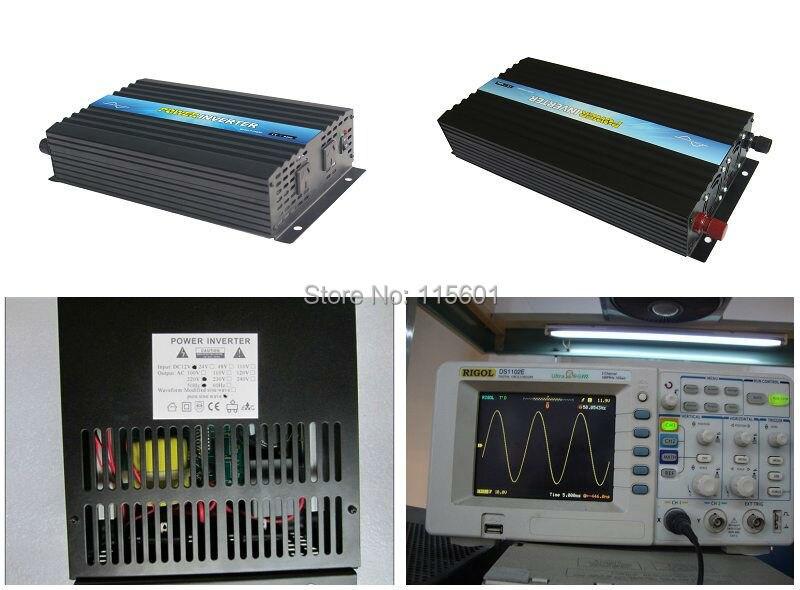 Free Shipping to USA Brazil Grid Free DC24V 48V AC 220V 100V 120V 240V 230V 50Hz 60Hz Warranty 1 year PSW inverter 12v 110v