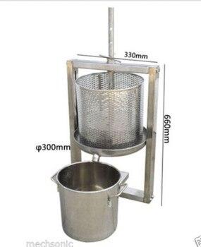 Nuevo barril hueco + separación de barril de vino máquina de prensa de uva Winepress L tamaño NE