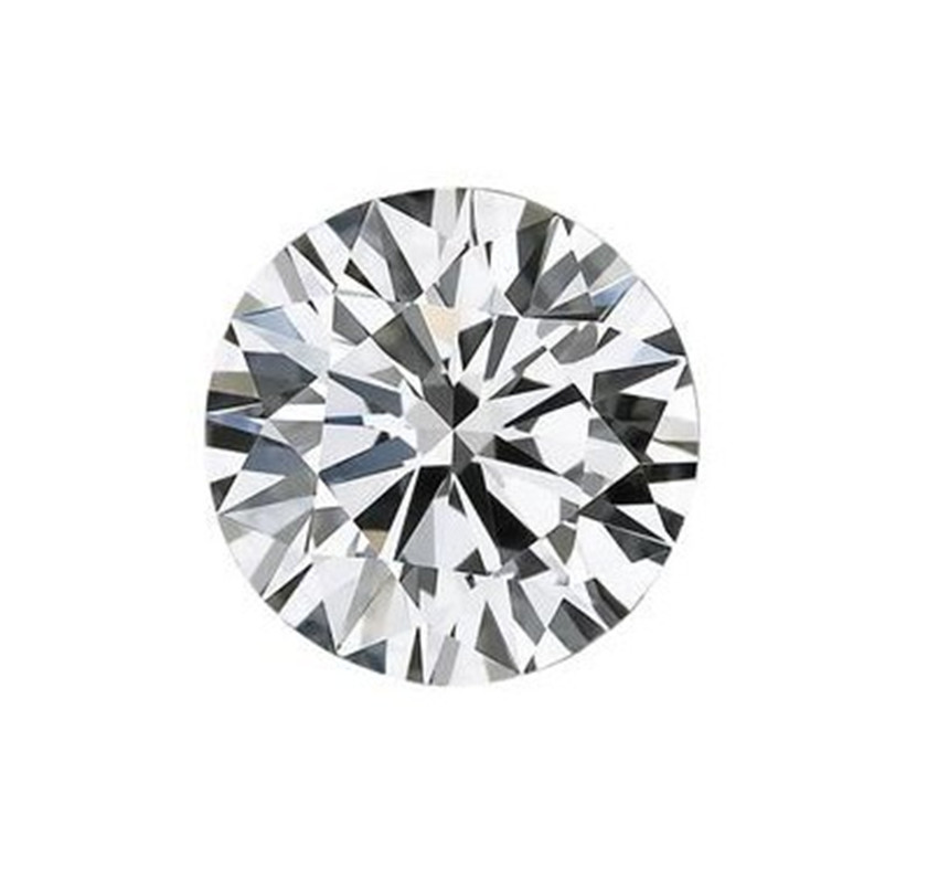 2.0mm VVS1 Clear Excellent Loose Moissanite Brilliant G-H Round Cut Test Positive CHARLES & COLVARD WARRANTY