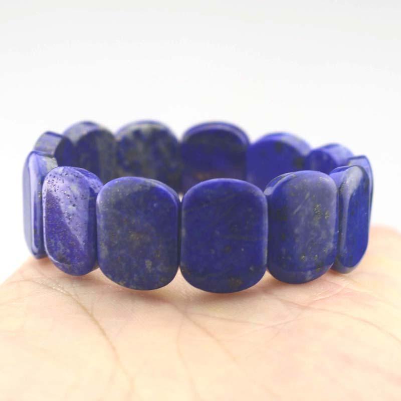 Натуральный лазуритовый камень браслет натуральный с драгоценным