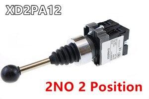 Image 2 - 4NO 4 pozycja krzyż przełącznik kołyskowy XD2PA14 XD2PA24 joystick kontrolery/2NO 2 pozycja przełącznik kołyskowy XD2PA12 XD2PA22