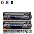 OSK CC388A 388A 88A тонер-картридж для hp LaserJet P1007/P1008/P1106/P1108; Pro M1136/M1213n Принтер Черный тонер-картридж