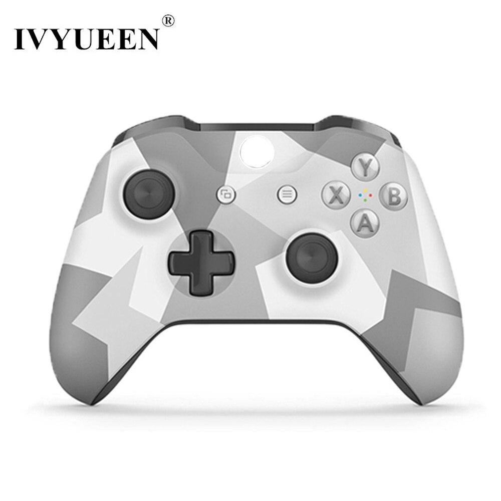 IVYUEEN Inverno Forze Speciali Edizione Anteriore Shell per Xbox One X S Controller Top Cover per X Box One X Slim Gamepad Up Shell