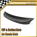EPR Car Styling Carbon Fiber CM-Style Rear Spoiler Trunk Wing Fit For Honda 10th Generation Civic FC