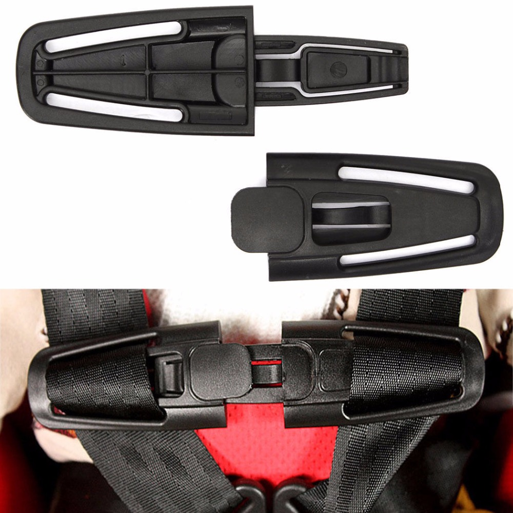Baby Safe Lock Car Child Clip Buckle Latch Safety Seat Straps Belt Harness Knot