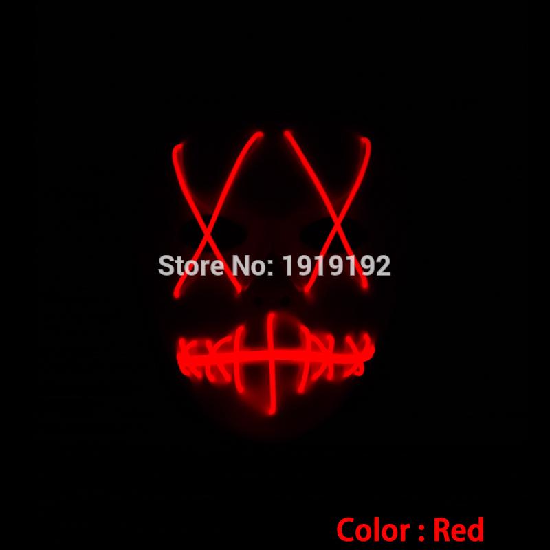 HTB1 fjHRVXXXXXHXFXXq6xXFXXXD - Mask Light Up Neon LED Mask For Halloween Party Cosplay Mask PTC 260
