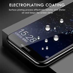 Image 3 - 3Pcs Full COVER กระจกนิรภัยสำหรับ Huawei P20 Pro P30 Lite P สมาร์ท P10 Plus ป้องกันหน้าจอสำหรับ Honor 20 10 Lite 8X ฟิล์มแก้ว