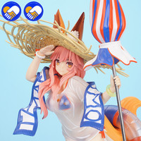 NEW ANIME FATE/GRAND ORDER FGO SEXY FOX WIFE SWIMSUIT TAMAMO NO MAE 5 STARS CASTER PVC ACTION TOY FIGURE MODEL ADULT BRINQUEDO