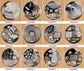 50 UNIDS 72 Patrones Nail Art Stamping Placas de Acero Inoxidable Sello Del Clavo de la Manicura Herramienta Sello Plantillas Plantillas Del Clavo Impresora (01-72)