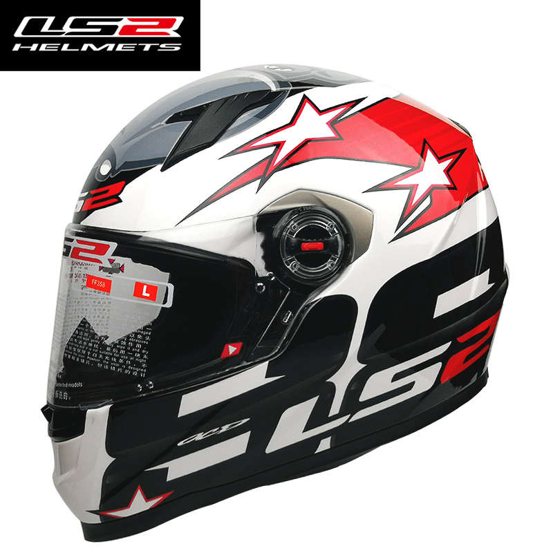 Image 4 - LS2 FF358  Full Face Motorcycle Helmet Woman Man Capacete ls2  With Removable Inner pads Casco Moto capacete de motocicleta-in Helmets from Automobiles & Motorcycles