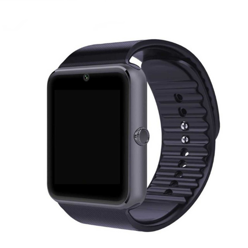 QAQFIT Bluetooth Smart Watch GT08 For Apple iphone IOS Android Phone Wrist Wear Support Sync smart clock Sim Card PK DZ09 GV18 floveme q5 bluetooth 4 0 smart watch sync notifier sim card gps smartwatch for apple iphone ios android phone wear watch sport page 1