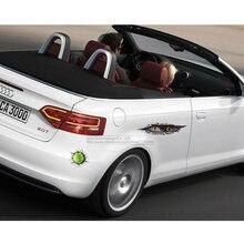 Funny Car 3D Eyes Peeking Tiger, Tennis Sticker, Rear Window Waterproof Decal For Cars