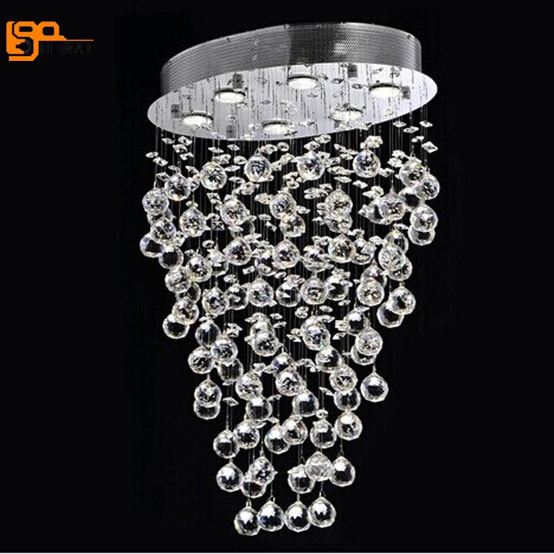 Neue Luxus Moderne Kronleuchter Kristall Lampe Fr Wohnzimmer Lustre LED Leuchte Dimmbar Hause BeleuchtungChina