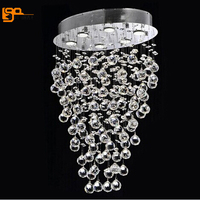 New Luxury Modern Chandeliers Crystal Lamp For Living Room Lustre LED Light Fixture Dimmable Home Lighting