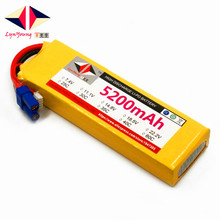 LYNYOUNG 7.4V Rc lipo battery 2S 40C 5200mAh for Quadcopter Drone aiplane Car Helicopter