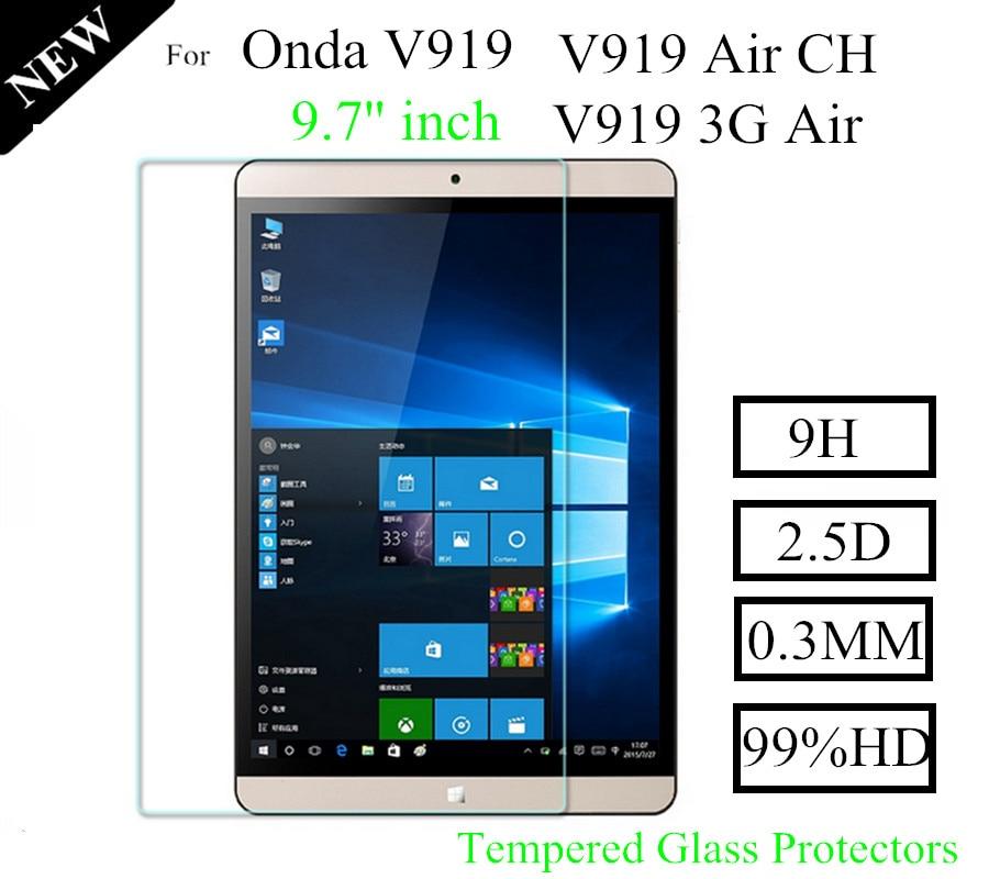 Proteggi vetro anti-frantumazione V919 Air 3G in vetro temperato per Onda V919 Air CH Proteggi schermo in vetro anti-graffio V919