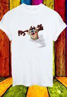 The Tasmanian Devil Taz Cartoon Movie Animal Funny Men Women Unisex T shirt 6422019 fashionable Brand 100%cotton Printed Round N